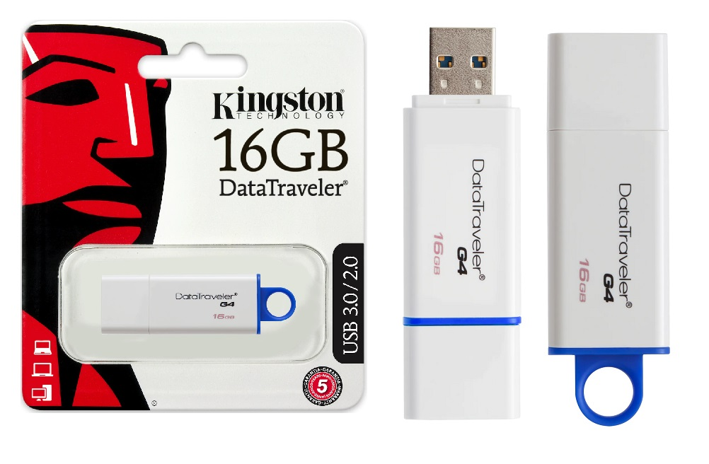 USB-Speicherstick, Kingstons 16GB (Art. 20-6140)